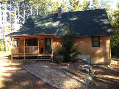 Photo for Quiet Summer Getaway!  Spacious Cabin - Close to Summer and Winter Fun