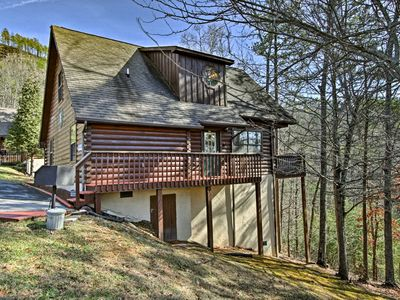 Photo for Sevierville Cabin w/ Hot Tub, Views & Pool Access!