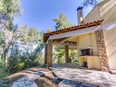 Photo for Exclusive villa surrounded by pine forest