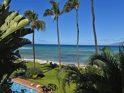 Photo for Stay at a boutique property for your visit to Maui 1 bd rm condo sleeps 4  ***