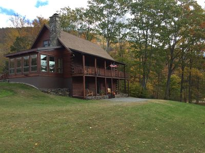 Photo for Beautiful, Secluded River View Cabin For The Perfect Vacation Get Away