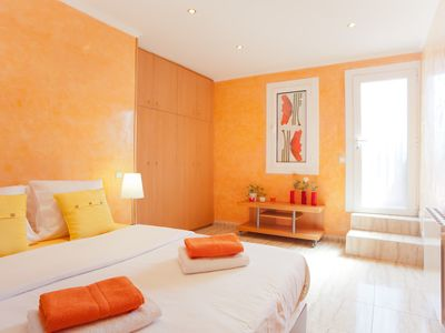 Photo for 2 bedroom apartment with FREE Wi-Fi and big private terrace in the heart of Barcelona