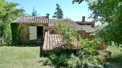 Photo for Mas Cévenol typical family, isolated, quiet, private pool in the heart of 20ha