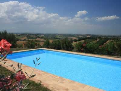Photo for farm house with pool in a quiet site with wonderful view