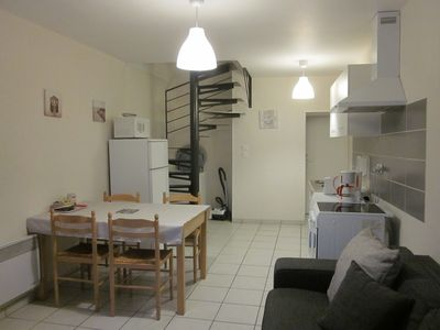 """Photo for """"BREAK THE BIKE"""" CLASS 3 * FURNISHED APARTMENT IN CENTRE LOIRE CASTLES"""