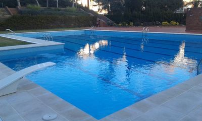 Photo for Apartament DESIGN 100m2, pool and garden 25 minutes from Barcelon
