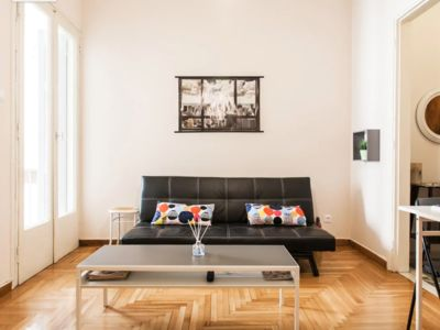 Photo for Retro apartment central athens 1 minute walking distance from metro.