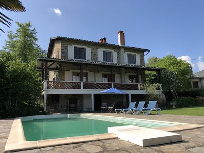 Photo for Le Vent d Autan is a luxury holiday home with private pool in the Tarn.