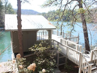 Photo for Lake House On The Water / Beautiful Views