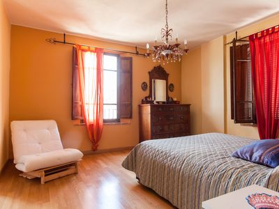 Photo for TOP 3rd floor medieval apartment with WiFi and air conditioning