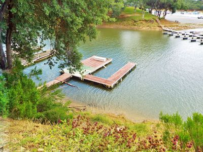 Photo for Lakefront Pet Friendly Home with a Private Dock by the Oak Shores Marina