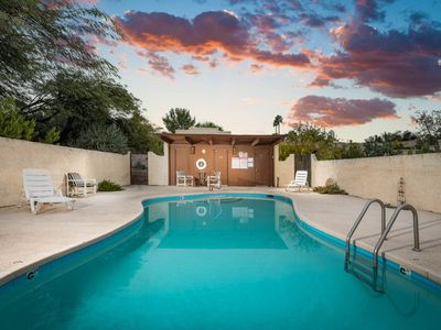 Photo for Corner condo in Tucson foothills w/ a community pool & two private patios