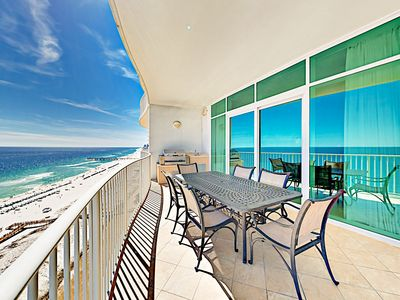 Photo for Beachfront 3BR: Hot Tub, Grill, Gulf View - By TurnKey