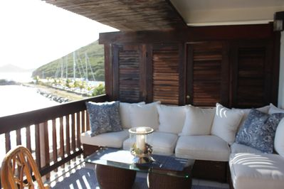 Outdoor White Pottery Barn Sectional