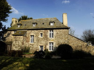 Photo for Stunning 17th Century Brittany Manoir - 10 minutes from the coast