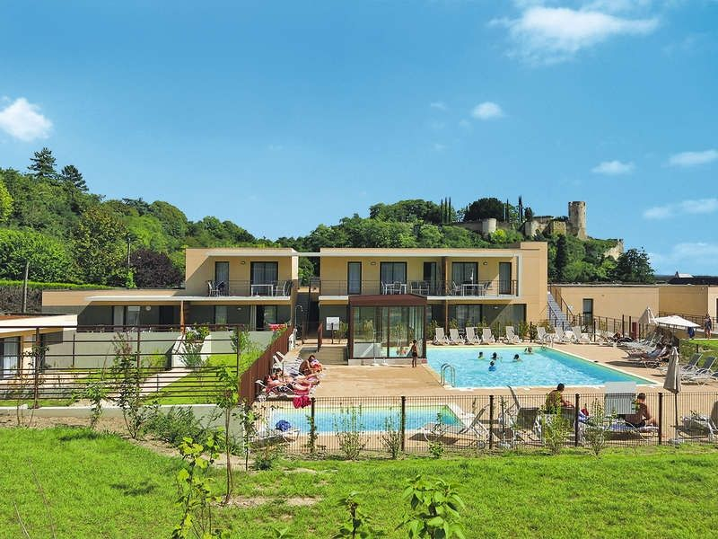 Apartment Le Clos St. Michel  in Chinon, Valley of Loire and Indre - 6 persons, 2 bedrooms