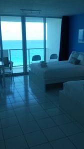 Photo for Dlx Oceanview Studio with and balcony for 4 (928)