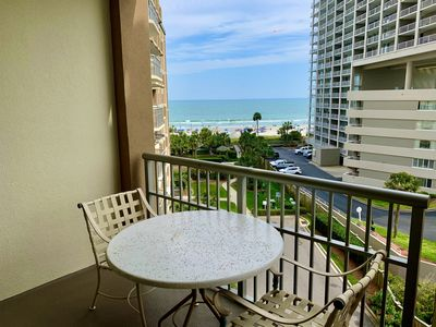 Photo for 408 Family resort with amazing ocean, sunset, and resort views from 4th floor