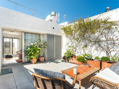 Photo for Castilla Terrace. 2 bedrooms, private terrace, free parking