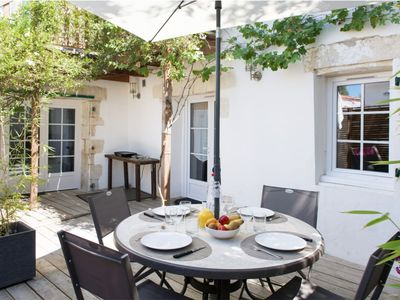 Photo for Beautiful location and its large private terrace