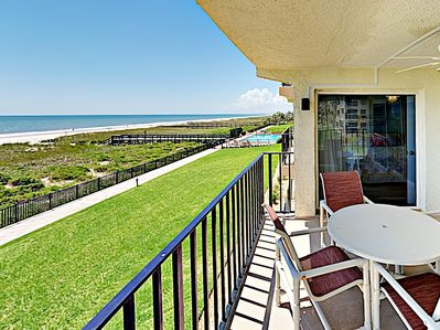 Balcony - Welcome to Fernandina Beach! This condo is professionally managed by TurnKey Vacation Rentals.