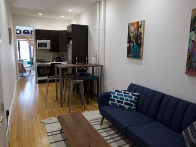 "Photo for ""The King's Loft"" Spacious 2 Bedroom-1 Bath with PS4 in lovely Greenpoint!"