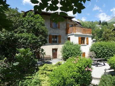 Photo for Savoyard chalet with open views in a relaxing setting in the middle of mo