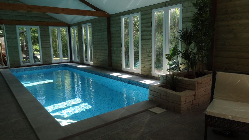 Location Vacances Maison Ouilly-le-Vicomte: Piscine