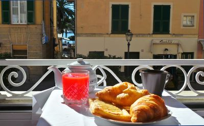Photo for Garibaldi - Apartment in typical Genoese house in the heart of Rapallo