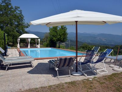 Photo for Farmhouse with private pool, & with stunning views from terrace WIFI