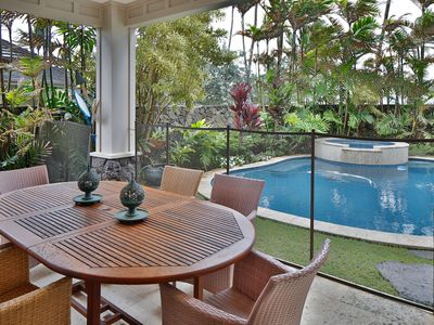 Photo for STOP! MUST SEE KAILUA BEACHSIDE VILLA with AC