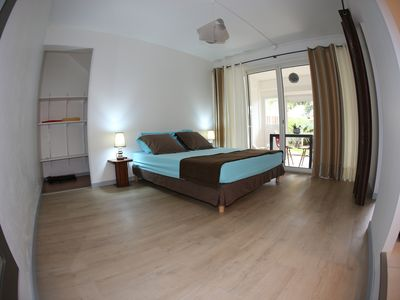 Photo for ground floor, comfortable, airy, welcoming 10 minutes from the airport