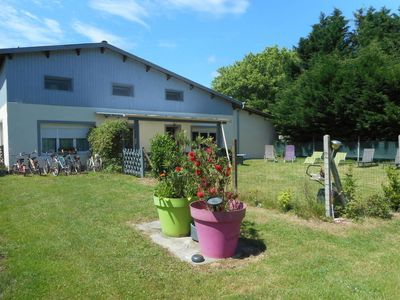 Photo for 3 bedroom Villa, sleeps 8 in Vendays-Montalivet with Air Con and WiFi