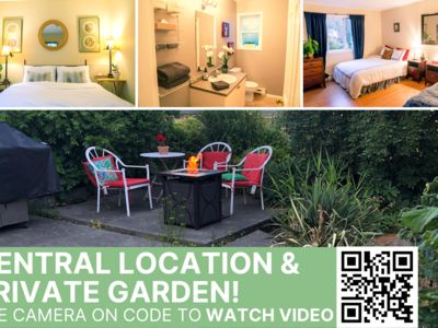 Photo for Central, Cozy, Stylish & Spacious + Private Garden w/ Fire Table