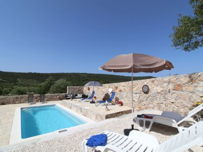 Photo for Peaceful Hillside Holiday Home with Large Pool and Relaxing Setting