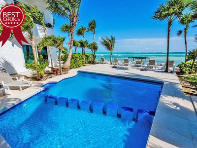 Photo for Beach Front Luxury Villa in Tulum, Amazing  Holidays!