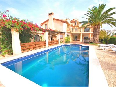 Photo for Saona Villas: Nice villa with private pool, Ametlla de Mar, for 6 people