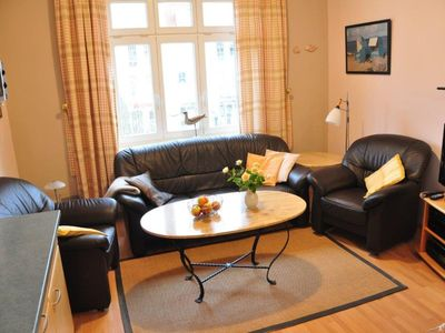 "Photo for (197) 2-room apartment Strandstr. 34 - Apartment house ""Sanssouci"""