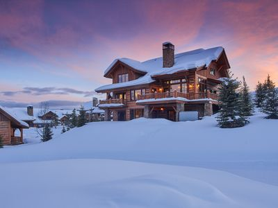 Photo for Ski-In / Ski-out Cabin in Spanish Peaks Mountain Club! Luxury on the Slopes!
