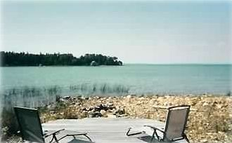 Relax in privacy on the shores of Lake Huron