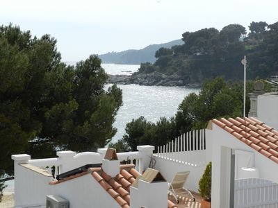 Photo for Nice sea view - 50 m from the beach