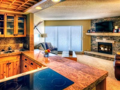 Photo for ENORMOUS Ski-in Suite + Fireplace & Huge Balcony | 6 On-site Hot Tubs!