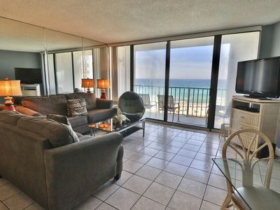 Photo for Edgewater 2BR Gulf Front Unit, Terrific View/Great Rates!