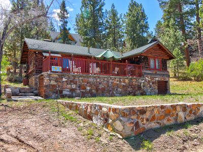 Photo for NEW LISTING! Rustic, peaceful home with lake views, swimming, ski resorts