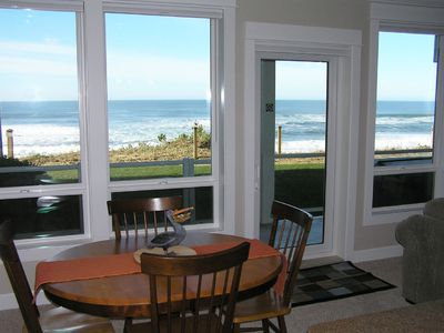 Photo for *Promo!* Beautiful Oceanfront Condo with Private Hot Tub, Pool, Wifi and More!