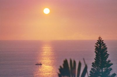 Everyday sunset over the Pacific Ocean view form house