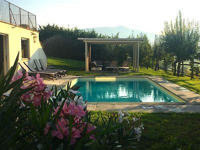 Photo for Tuscan House for 12, Family-friendly, Near 5 Terre, Pool garden, private parking