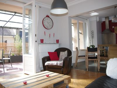 Photo for charming apartment in hypercentre of Rodez