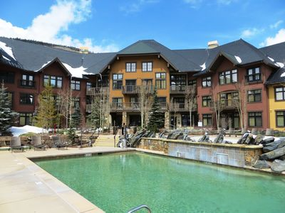 Two year-round heated pools including a beach entry pool for small children.