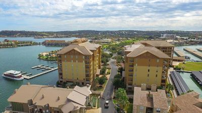 Photo for Gorgeous Waterfront Condo next to HSB Resort